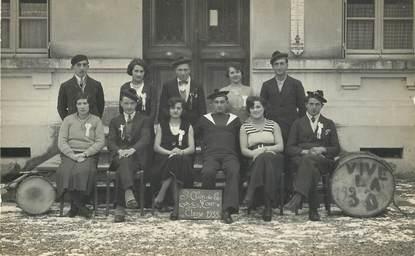 """CARTE PHOTO  FRANCE   38 """"Saint Clair de la Tour, 1933 """""""