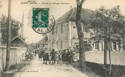 """CPA FRANCE 38 """"Saint Bueil, mairie et groupe scolaire"""""""