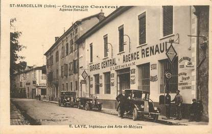 Cpa france 38 saint marcellin garage central agence for Garage renault st marcel