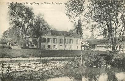 """CPA FRANCE 18 """"Berry Bouy, Château du Courpoy"""""""