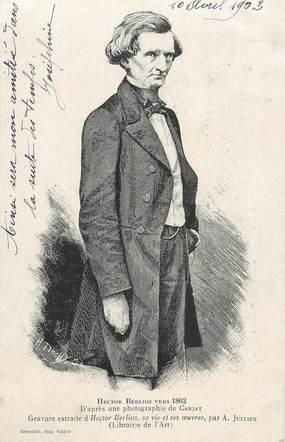 CPA MUSIQUE / BERLIOZ /  Grenoble Fêtes du centenaire d'Hector Berlioz, 1903