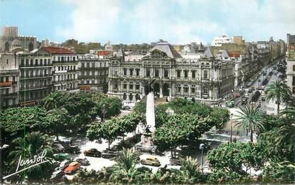 """CPSM ALGERIE """"Oran, la Place Mal Foch"""""""