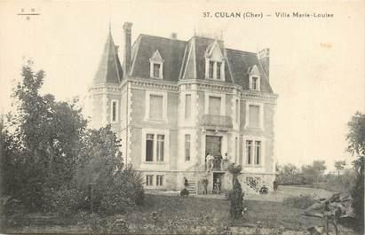 """CPA FRANCE 18 """"Culan, villa Marie Louise"""""""