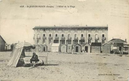 """CPA FRANCE 85 """"Saint Jean de Monts, L'Hotel de la plage"""""""