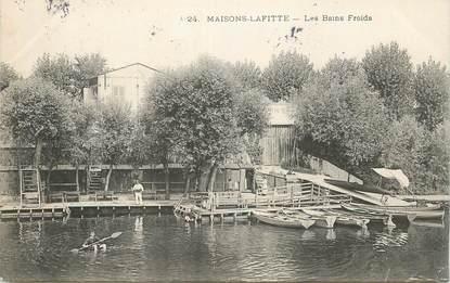 """CPA FRANCE 78 """"Maisons Laffitte, les Bains froids"""""""