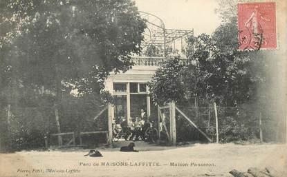 """CPA FRANCE 78 """"Maisons Laffitte, Maison Panseron"""""""