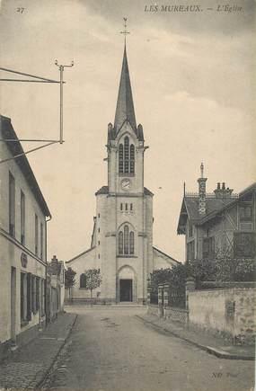 """CPA FRANCE 78 """"Les Mureaux, l'Eglise"""""""