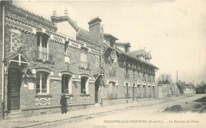 """CPA FRANCE 78 """"Neauphle le Chateau, le bureau de Poste"""""""