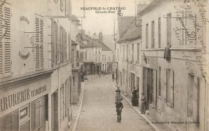 "CPA FRANCE 78 ""Neauphle le Chateau, la grande rue"""