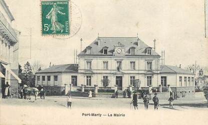 Cpa france 78 port marly la mairie 78 yvelines - Point p port marly ...