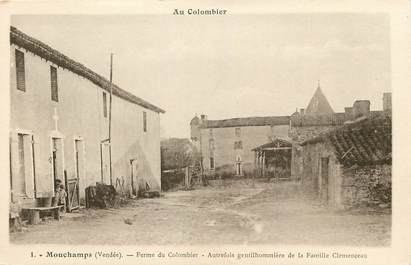 "CPA FRANCE 85 ""Mouchamps, ferme du Colombier"""