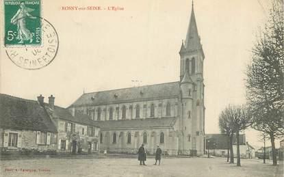 "CPA FRANCE 78   ""Rosny sur Seine, l'Eglise"""