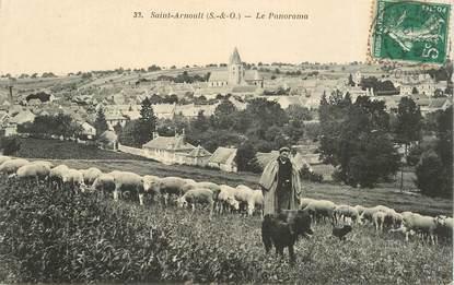 """CPA FRANCE   78  """"Saint Arnoult, le berger"""""""
