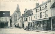 """78 Yveline CPA FRANCE   78  """"Saint Arnoult, Rue de l'Eglise et place du Marché"""""""