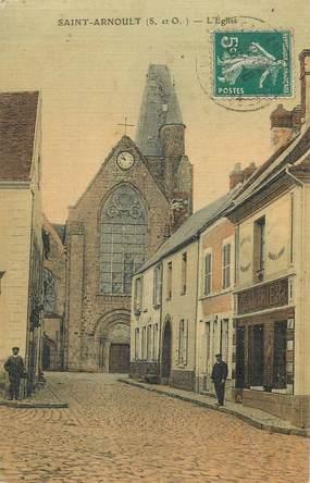 """CPA FRANCE   78  """"Saint Arnoult, l'Eglise"""""""