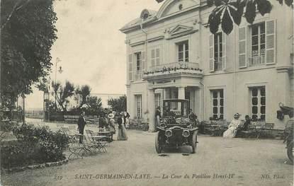 "CPA FRANCE   78   ""Saint Germain en Laye, la cour du Pavillon Henri IV"""