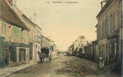 """CPA FRANCE   78  """"Trappes, la grande rue"""""""