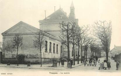 """CPA FRANCE   78  """"Trappes, la mairie"""""""