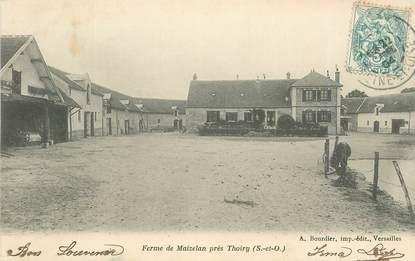 """CPA FRANCE   78  """"Thoiry, la Ferme de Maizelan"""""""
