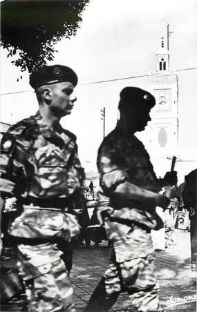 """CPSM ALGERIE """"Alger, le 13 mai 1958, les paras, place du gouvernement"""""""