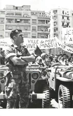 """CPSM ALGERIE """"Alger, le 13 mai 1958, sur le Forum"""""""