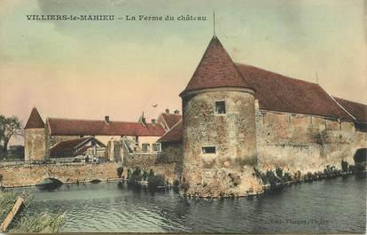 """CPA FRANCE   78  """"Villiers le Mahieu, la Ferme du Chateau"""""""