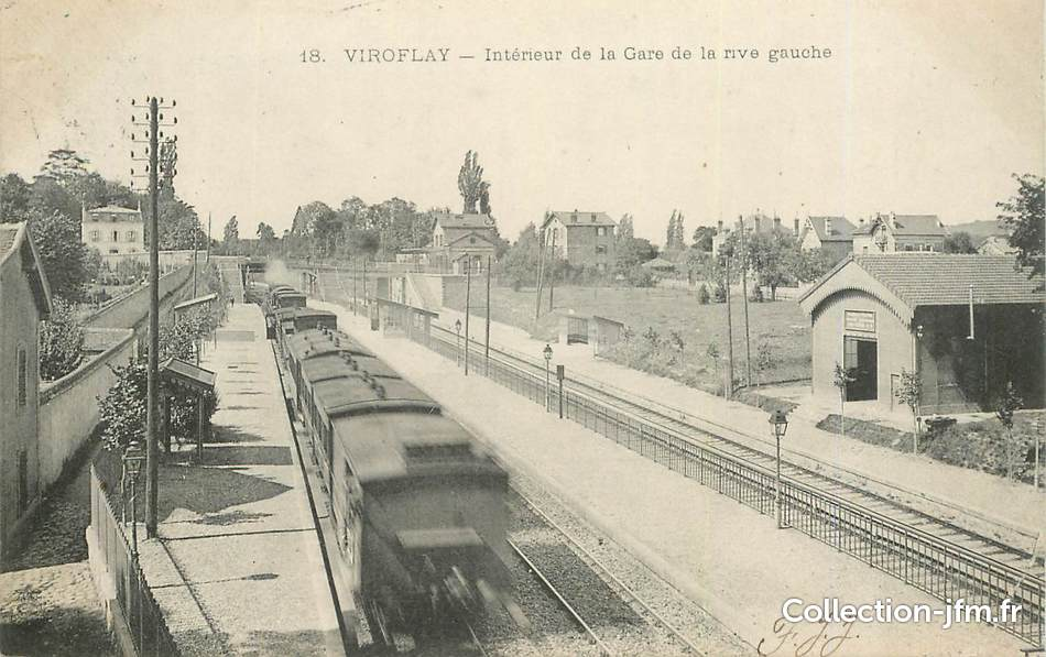 Cpa france 78 viroflay int rieur de la gare 78 for Interieur 78