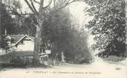 """78 Yveline CPA FRANCE   78  """"Viroflay, la chaumière et avenue de Versailles"""""""