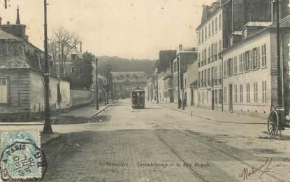 """CPA FRANCE   78  """"Versailles, Grandchamp et la rue Royale"""""""