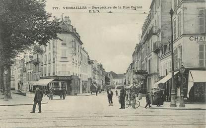 "CPA FRANCE   78  ""Versailles, la rue Carnot"""