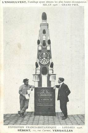 "CPA FRANCE   78  ""Versailles, exposition franco britannique, 1908"""