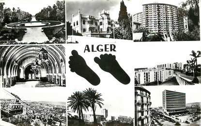 """CPSM ALGERIE """"Alger"""" / vues de la ville"""