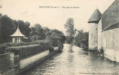 """CPA FRANCE 28 """"Saint Piat, vue prise du moulin"""""""