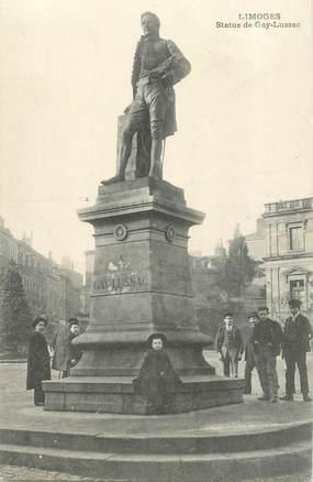 """CPA FRANCE 87 """"Limoges , la statue de Gay Lussac"""""""