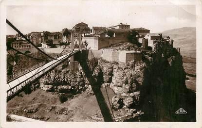 """CPSM ALGERIE  """"Constantine, vue générale et le pont Sidi M'Cid"""""""