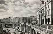 """Algerie CPSM ALGERIE  """"Alger, la chambre de commerce et les voutes de la pêcherie"""""""