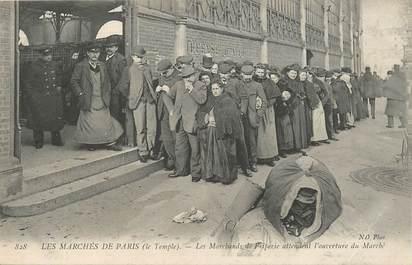 """CPA FRANCE 75003 """"Paris, les marchands de Friperie"""""""