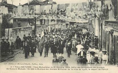 """CPA FRANCE 38 """"Tullins, 1909"""""""