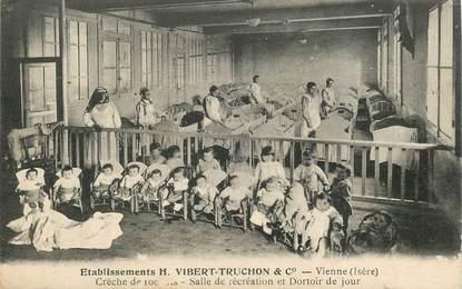 """CPA FRANCE 38 """"Vienne, Etablissements H. Vibert Truchon & Co, Crèche"""""""
