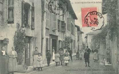 """CPA FRANCE 38 """"Saint Quentin sur Isère"""""""