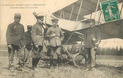 """CPA FRANCE 54 """"Aéroplane allemand atterrit à Arracourt"""""""