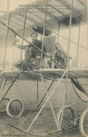 """CPA FRANCE 54 """"Jarville aviation, 1909"""""""