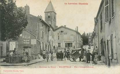 "CPA FRANCE 54 ""Malzéville, rue d'Alsace Lorraine"""