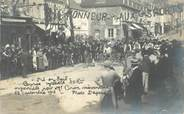 "53 Mayenne CARTE PHOTO FRANCE 53 ""Pré en Pail, 1912, course cycliste"""