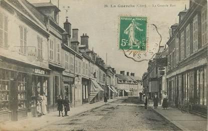 """CPA FRANCE 18 """"La Guerche, la grande rue"""""""