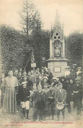 """CPA FRANCE 55 """"Pèlerinage de Benoite Vaux, la Fontaine miraculeuse"""""""