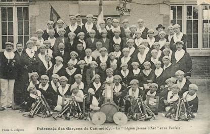 """CPA FRANCE 55 """"Commercy, Patronage des Garçons, la Légion Jeanne d'Arc et sa fanfare"""""""