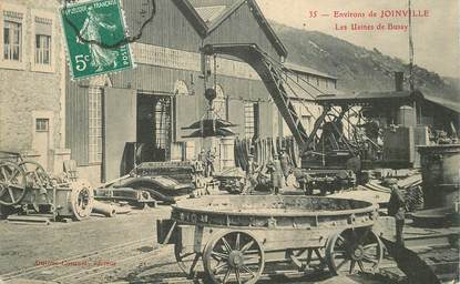 "CPA FRANCE 52 ""Env. de Joinville, les Usines de Bussy"""