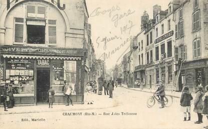"""CPA FRANCE 52 """"Chaumont, rue Jules Tréfousse"""""""