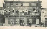 """52 Haute Marne CPA FRANCE 52 """"Saint Dizier, Hotel et Café de la Fontaine, Pr. Léon Etienne"""""""